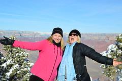 Grand Canyon 40 (Krasivaya Liza) Tags: grandcanyon grand canyon national park canyons nature natural wonder az arizona holiday christmas 2016 snowy winter cliffs cliffside edgeofcliff