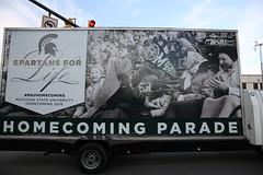 MSU Homecoming Parade, October 2016