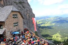 DSC_4864 (marcus.liefeld) Tags: italien alpen dolomiten südtirol gröden langkofel sassolungo rifugiovicenzaalsassolungo langkofelhütte berghütte