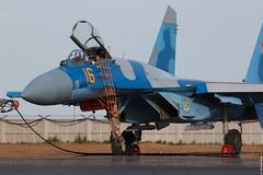 Kazakhstan Air Force Sukhoi Su-27M2 16 Yellow, KADEX-2016, Astana Kazakhstan (Jeroen.B) Tags: 2016 airport defence expo kadex kazachstan kazakhstan uacc air force sukhoi su27m2 16 su27 27 ye yellow kadex2016 astana international қазақстанның