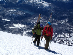Climbing / skiing Volcan Lanin