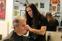 Get a Haircut (VEDC) Tags: lasvegas barber getahaircut barbershop vedc smallbusiness jerryjones musician rockband heavymetal rocker haircut hair cut funding finance shop local community