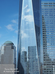 NYC - WTC Reflections 2017-03-124956 (FotoManiacNYC) Tags: nyc manhattan downtown newyork newyorkcity wtc worldtradecenter oneworldtradecenter freedomtower 1worldtradecenter theoculus september11memorial 911memorial 911 fultonstreet