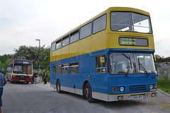 Preserved Leyland Lynx F611RTC & 654 G654UPP (Will Swain) Tags: uk travel england bus buses station train is britain derbyshire hill transport may first trains former preserved 16th essex lynx chesterfield barrow leyland arriva 2014 shires 654 5104 62611 f611rtc g654upp
