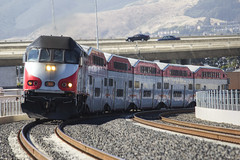 Caltrain 366 - MP36PHI (knelson27) Tags: up caltrain pacific union locomotive railfan f40 geep gp38 gp40 f40ph hlcx mp36 mp36phi