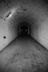 Newhaven Fort (reloaded) (agataurbaniak) Tags: sea summer blackandwhite cliff museum architecture landscape sussex blackwhite pc nikon day harbour fort military 28mm hill sunny tunnel cannon newhaven nikkor fortification fortifications vignette eastsussex surroundings ais defend d600 nikkor28mm35 perspectivecontrol newhavenfort pcnikkor nikond600 nikkor2835 28mm35 28mm35pc nikkor28mm35pc nikkor2835pc agataurbaniak