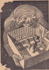 Fantastic Adventures / Illustration 6 (micky the pixel) Tags: sf illustration drawing sciencefiction pulp fido zeichnung markreynolds fantasticadventures julianskrupa