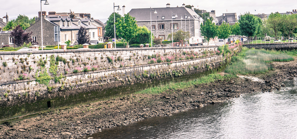 Telephoto View Of Clancy Strand In Limerick