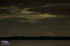 Lake Lanier Lightning (The Suss-Man (Mike)) Tags: sky lake nature water weather clouds georgia unitedstates lightning lanier cumming lakelanier forsythcounty thesussman tidwellpark sonyslta77 sussmanimaging