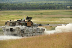 M1A2 tank gunnery at Grafenwoehr during Combined Resolve II (7th Army Training Command) Tags: by germany de soldiers erf abrams gta tanks usarmy m1a2abrams usarmyeurope usareur visualinformation 1stcavalrydivision grafenwoehr 25cav tsae grafenwoehrtrainingarea usarmyineurope jmtc jointmultinationaltrainingcommand markusrauchenberger trainingsupportactivityeurope europeanrotationalforce combinedresolveii