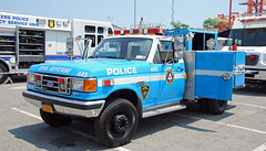 Greenbugh Civil Deffense Unit (zamboni-man) Tags: park new york rescue ny ford public port truck demo fire highway tahoe police pd rye chester chevy valley works vehicle trucks hudson plow signal ems federal department playland westchester fd dpw whelen commad deparments