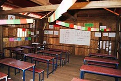 Classroom set up (United World Schools) Tags: school cambodia classroom class learning teaching