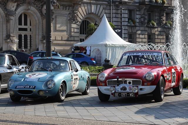 René Bonnet Aérodjet 1963 - MGB GT SEBRING 1966