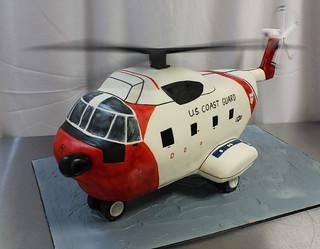 Helicopter Cake med