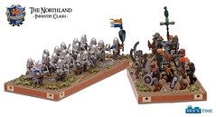 Infantry Clash (THE BRICK TIME Team) Tags: castle infantry war lego battle clash bunch minifig herrbann