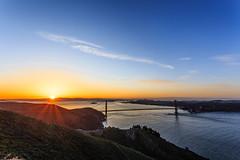 San Francisco Sunrise - 63 (www.bazpics.com) Tags: sanfrancisco california morning bridge usa sun color colour night america sunrise golden gate san francisco day ray glow break unitedstates state hawk hill saturday hills goldengatebridge april sausalito 26th sausolito 2014 barryoneilphotography