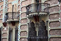 Barcellona - Casa Vincens (divicoalessandro) Tags: architecture gaud barcellona