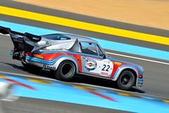 Porsche 911 RSR Turbo, Le Mans Classic 2014 (Thibault Gaulain) Tags: france classic rain night nikon 911 pluie racing turbo mans le porsche nuit lemans v8 v10 v6 v12 2014 nikond3200 rsr d3200 lemansclassic2014