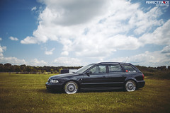 Audi S4 B5 - BBS RS (Front mounted) (Rick Bruinsma) Tags: summer usa holland heritage netherlands dutch car racecar 35mm canon vintage germany golf volkswagen us perfect ride seat air low nederland meeting well static jetta even