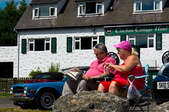 Shoot it like Martin Parr (raphael.chekroun) Tags: road uk trip travel summer classic tourism car vintage scotland roadtrip ecosse martinparr