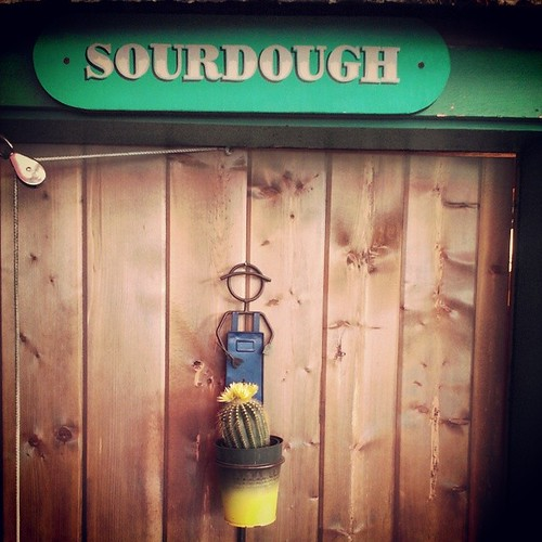 Sourdough - men's bathroom at Klondike Rib and Salmon #yxy #Yukon