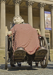 Relaxing In The Sunshine (Stephen Whittaker) Tags: old city people urban girl lady liverpool giant spectacular nikon grandmother pov centre mother grand granny jeanluc litle spectacle xolo courcoult d5100 giantspectacle