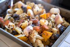 Roasted Veggies (All About Light!) Tags: food vegetables roastedveggies cusine