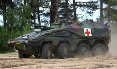 BOXER Ambulance NL (Combat-Camera-Europe) Tags: army boxer heer nato armee otan 8x8 gtk landmacht ambulancevehicle koninklijkelandmacht rheinmetall militaryambulance oirshot boxerambulance kmweg oirshotheide