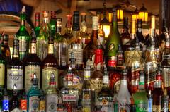 New York Fire Island Maguires Restaurant (www.karltonhuberphotography.com) Tags: newyork bar fun restaurant lowlight bottles interior drinking spirits alcohol booze cocktails happyhour fireisland 2014 maguires nikond7000 karltonhuber