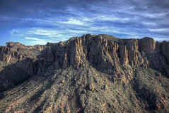 Arizona Landscape 17 (Largeguy1) Tags: blue arizona sky clouds canon landscape mark ii 5d approved superstitionmtn