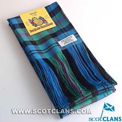 Clan Baird Tartan Long Sash