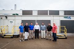 Left to Right: Mark Meredith, Josh Kaplon, Jeremy Stout, Jeff Cotton, Mark Donoghue, Chad Epling, Michael Prinkey (NETL Multimedia) Tags: energy research energylab nationallab netl nationalenergytechnologylaboratory