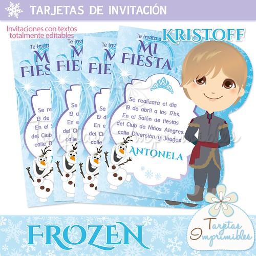 Tarjetas De Invitación Frozen A Photo On Flickriver