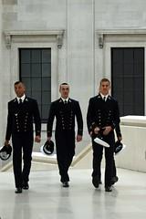(Men in) uniforms (mikael_on_flickr) Tags: men uniform snapshot handsome guys britishmuseum belli hommes italians italiani ragazzi adolescents divisa inuniform uomoni spymen nelladivisa