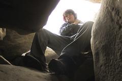 (CaledoniaEHanson) Tags: boy rocks little hiking brother caves teenager teenage