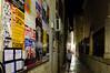 Old Town posters (Jonne Naarala) Tags: vacation night poster alley anniversary croatia oldtown dubrovnik fujix100 fujifilmfinepixx100
