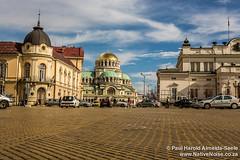 The Golden Roads of Sofia, Bulgaria