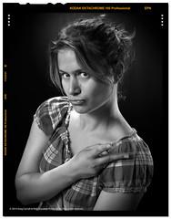 Amandine - Black & White - 01 (Greg Cervall) Tags: bw canon studio blackwhite women femme nb noirblanc 5dmkiii