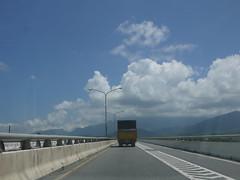 P1110724 (Chi-Hung Lin) Tags: bridge sky clouds taiwan     taitung  2014 8