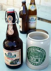 germany - sauer brewery bier x krug rossdorf am forst 08-8-14 JL (johnmightycat1) Tags: bayern deutschland brewery stein krug
