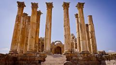 Temple of Artemis of the Greco-Roman city of Gerasa, Jerash, Jordan