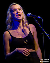 Courtney Fortune @ Tractor Tavern (Kirk Stauffer) Tags: show seattle light portrait musician music food woman usa tractor cute beer girl smile smiling female bar hair menu restaurant us photo washington concert nikon women long pretty tour singing wine drink song live stage gig courtney performing band drinking jazz august pop fortune event eat wash drinks alcohol sing tavern singer blonde indie vocalist wa ballard tall perform vocals kirk entertaining stauffer singersongwriter 2014 tractortavern d4 lighing courtneyfortune kirkstauffer