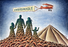 Unbreakable Family (Ben Heine) Tags: life family famille sky people mountain love home shop illustration plane watercolor print poster landscape volcano fly store couple holidays rocks poetry message transformation stuck fort live father daughter mother son bluesky poetic amour posters tenerife strong solutions symbols build freetime volcanic teide problems canaryislands nomads connection stay transform rochers vie solid unbreakable handinhand islascanarias pencildrawing volcan artprint familymembers incassable a3paper artbybenheine unbreakablefamily troublesoflife