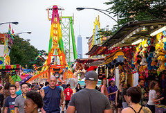 Sights and Sounds (Andy Marfia) Tags: carnival chicago ukrainianvillage candid crowd games rides f8 johnhancockcenter iso560 1125sec d7100 1685mm