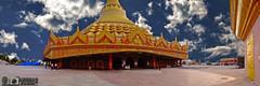 Global Vipassana Pagoda HDR panorama (akshaypatil™ ® photography) Tags: panorama pagoda hdr gorai globalvipassanapagoda