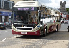 20 - BT14 DKK (Cammies Transport Photography) Tags: street bus buses 30 for volvo coach high edinburgh transport 20 hybrid lothian musselburgh 7900 lothianbuses bt14dkk