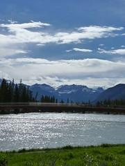 Little walk around Banff, Banff National Park, Alberta, Canada (Loeffle) Tags: canada river hiking hike alberta banff rockymountains fluss wandern bowriver kanada banffnationalpark wanderung canadianrockies banffnp rivere 062014