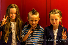 First Day Back (limebluphotography) Tags: new school portrait fall love smile up proud lockers canon hair bag lunch one three photo nikon day play bell joy daughters first son clothes teacher clean nervous pro dressed threes