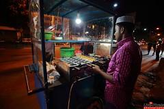 Dhaka Street at Night (Live-Pixels) Tags: street night canon dhaka bangladesh canon5dmark2