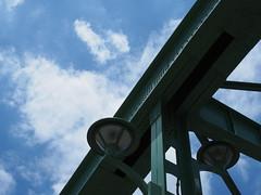 (Neconote) Tags: leica bridge sky japan tokyo f14 olympus summilux omd 25mm em5 umayabridge